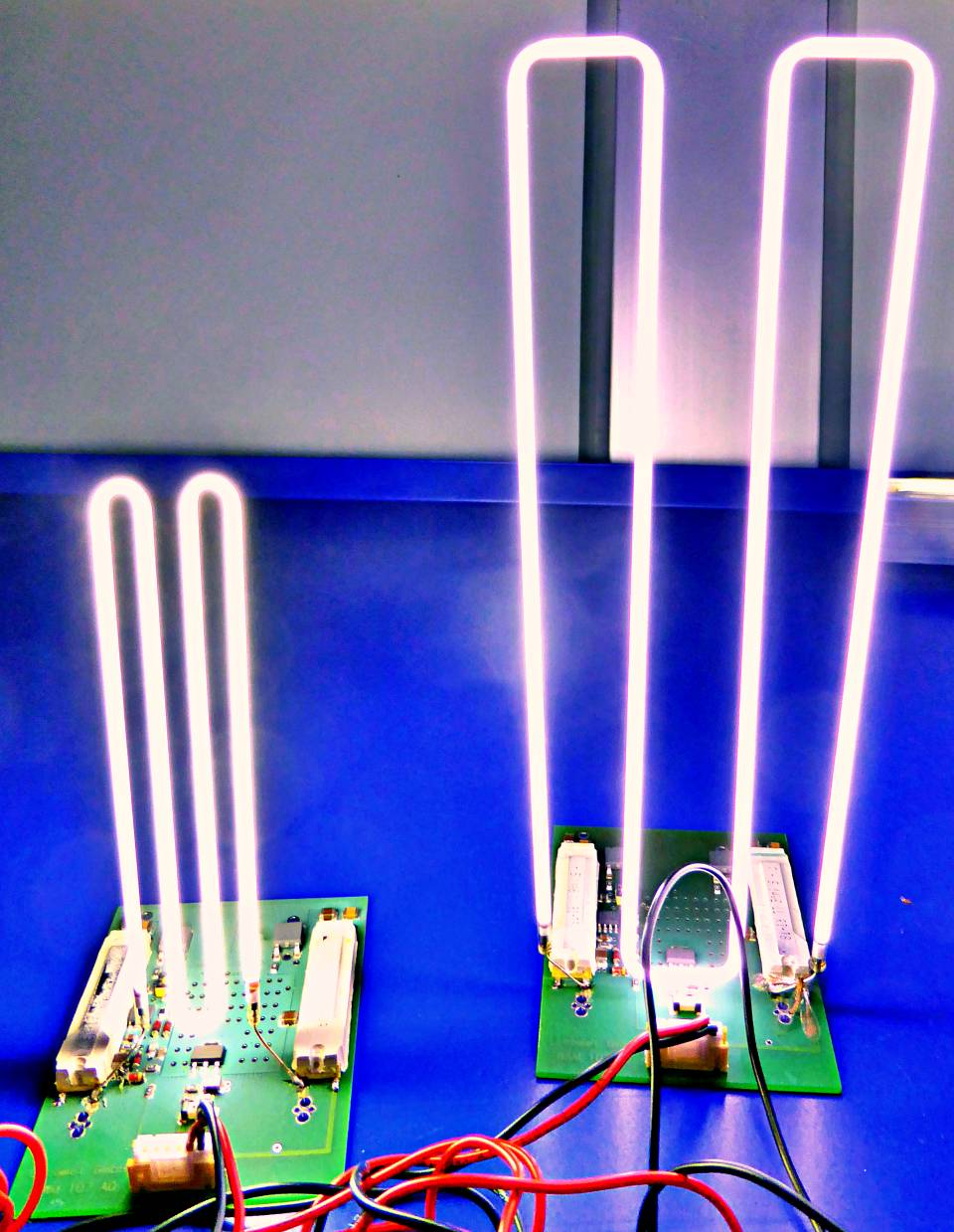 e³ light sources can also be formed during production - with special machines - we offer 2D forming