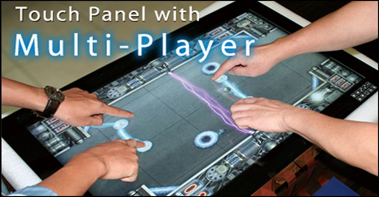 Touch Panel mit Multi Player