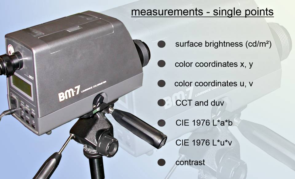 Optical measurement services